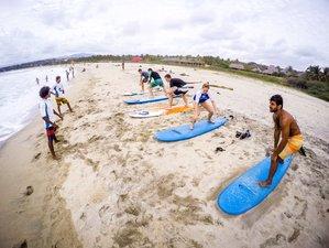 6 Tage Spanisch Unterricht, Yoga und Surf Camp in Puerto Escondido, Oaxaca
