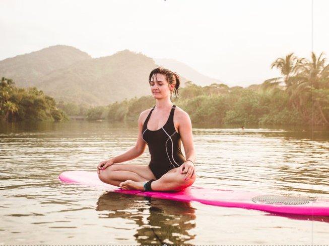 10 jours en stage de yoga fantastique à Palomino, Colombie