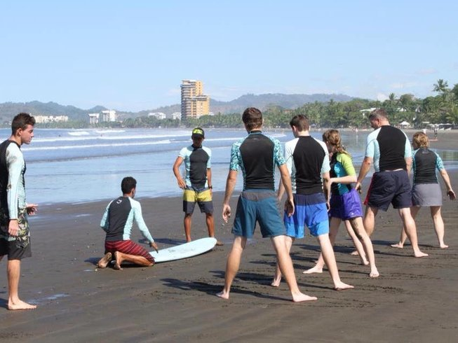 8 Days Surf Camp in Playa Hermosa, Costa Rica