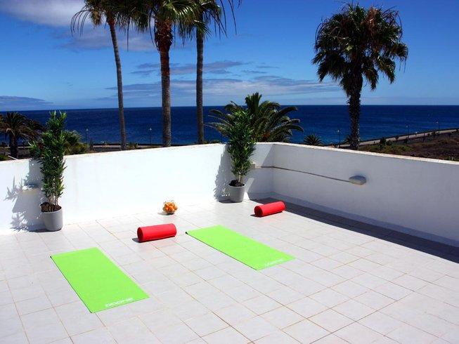 8 días retiro de yoga todo incluido en Lanzarote
