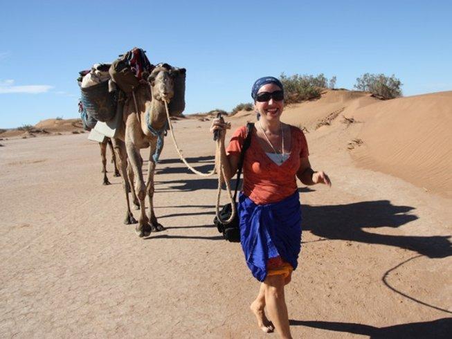 10 Tage Yoga Luxus Reise durch Marokko und die Sahara