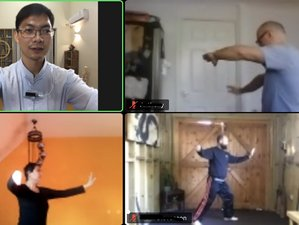 45 Sessions Live Online TaiChi and Meditation Class for Beginners Spread Over 1 Year