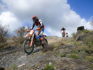 4 Days Guided Enduro Motorcycle Tour in the Famous Tracks of Lagares, Porto, Portugal