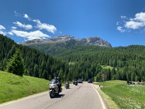 10 Day Dolomites and Tuscany Sunsets Guided Motorcycle Tour in Italy