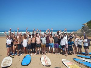 8 Days Spanish Lesson, Yoga and Surf Camp Basque Country, Spain