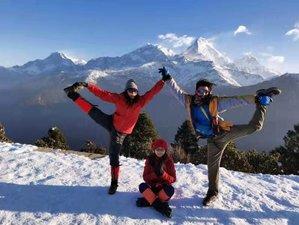 7 Day Mardi Himal Trek, Relaxing Yoga, and Meditation Retreat in Nepal