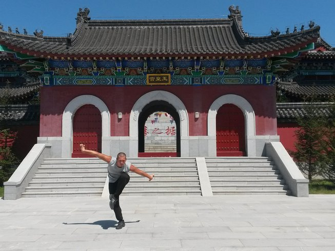6 Months Traditional Kung Fu Vacations in Tianmeng Mountains, Shandong, China