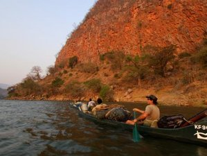 8 Days Chirundu to Kanyemba Classic Short Canoe Safari Zambezi River, Zimbabwe