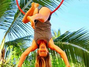 8 Days Yoga, Fitness, Circus, and Adventures Retreat in Puerto Escondido, Mexico