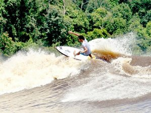 5 Days River Surfing Surf Camp Indonesia