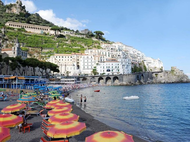 5 Days Amalfi Cooking Holidays in Italy