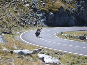 7 Days Carpathian Mountains Guided Motorcycle Tour in Romania