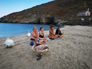 7 Day Revitalizing Retreat with Yoga, Hiking, and Swimming in Andros Island, South Aegean