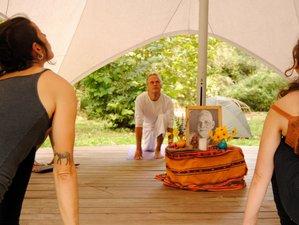 7 Day Shining Heart Hatha Yoga and Meditation Retreat in Barcelona Mountains, Girona, Catalonia