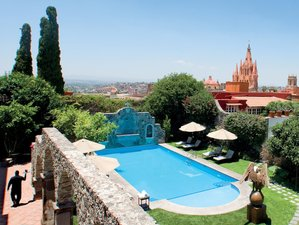 5 Days Luxury Yoga Holiday in the Heart of San Miguel de Allende, Mexico