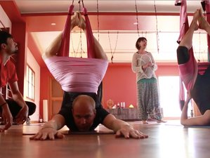 4 Days Intensive Aerial Suspension Yoga Teacher Training in Gokulam, Mysore, India