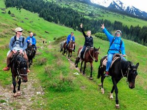 12 Day Unforgettable Horse Riding Tour in Tian Shan Mountain, Kyrgyzstan