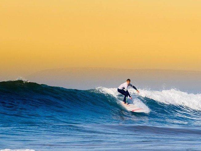 8 jours en vacances de yoga et surf camp à Taghazout, Maroc