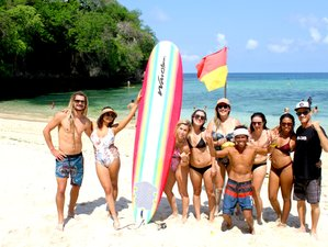 8 Day Aloha Essential Yoga and Surf Camp in Uluwatu, Bali