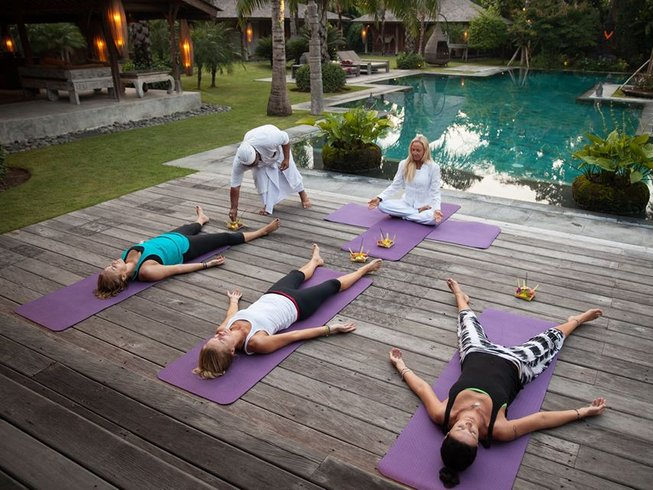 8 Days Fast Detox and Yoga Retreat in Bali