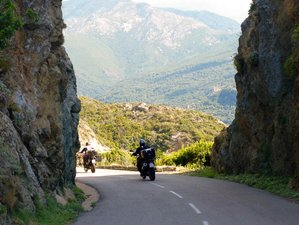 11 Days Guided Motorcycle Tour in Tuscany and Sardinia, Italy and Corsica, France