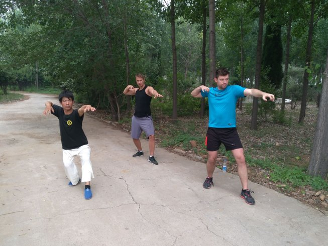14 Days Foreigners Tai Chi and Kung Fu Training in Hebei, China