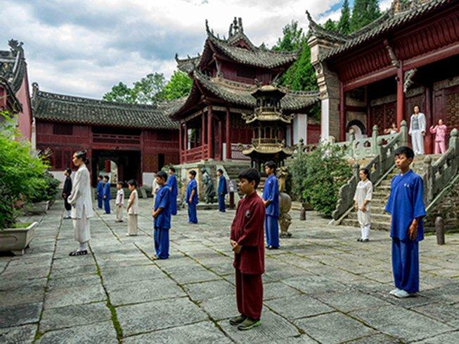 1 Year Kung Fu, Tai Chi, and Taoist Healthcare in Hubei, China