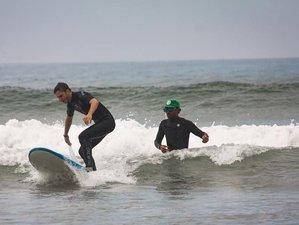 7 days Surf Coaching sunset surfhouse Tamraght, Morocco