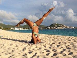 21 jours en formation de professeur de yoga flow et restaurateur, St. Martin, Caraïbes