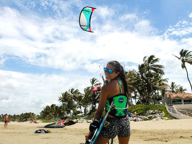8 Days Women's Kite, Surf and Yoga Retreat in Dominican Republic