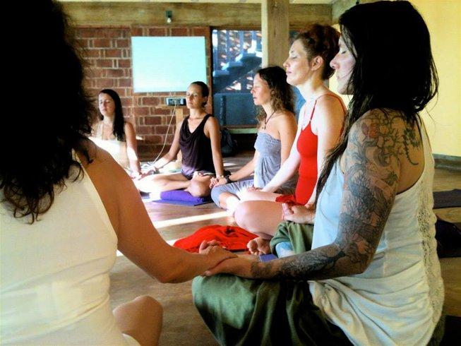 6 Days Meditative Dark Room Yoga Retreat in Mexico