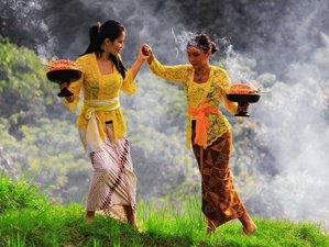 2 Day Shamanic Blessing, Authentic Hindu Culture, Ancient Yoga & Heavenly Spa Holiday in Bali