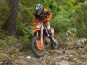 4 Days Guided Enduro Motorcycle Tour in Lousã, Portugal