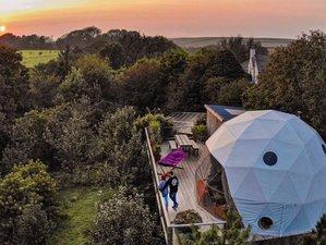 4 Day 'Four Elements' Eco Glamping Yoga Retreat, Devon, UK