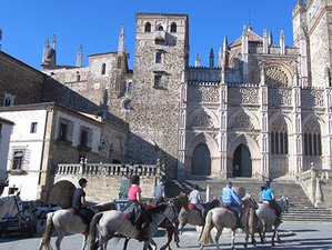 7 Day Pilgrimage to Guadalupe Monastery Horse Riding Holiday in Cáceres, Spain