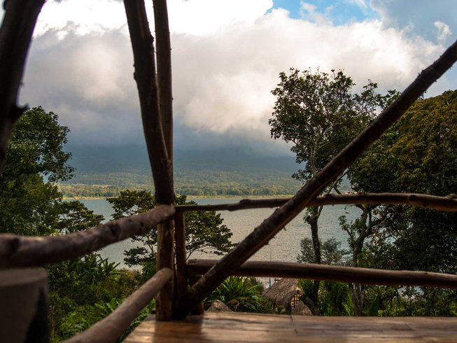 10 jours-85h en stage de yoga prénatal au lac Atitlan, Guatemala