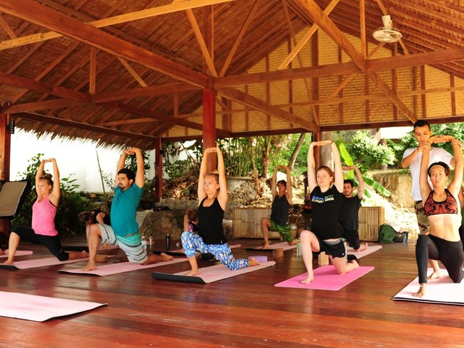 28 Days 200-hour Yoga Teacher Training in Surat Thani, Thailand w/ volunteering