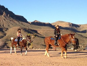 2 Day Cowboy Camp Out and Horseback Riding Holiday in Mohave County, Arizona