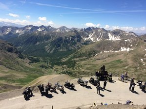 9 Day Napoleon Alpine Route Guided Motorcycle Tour in France