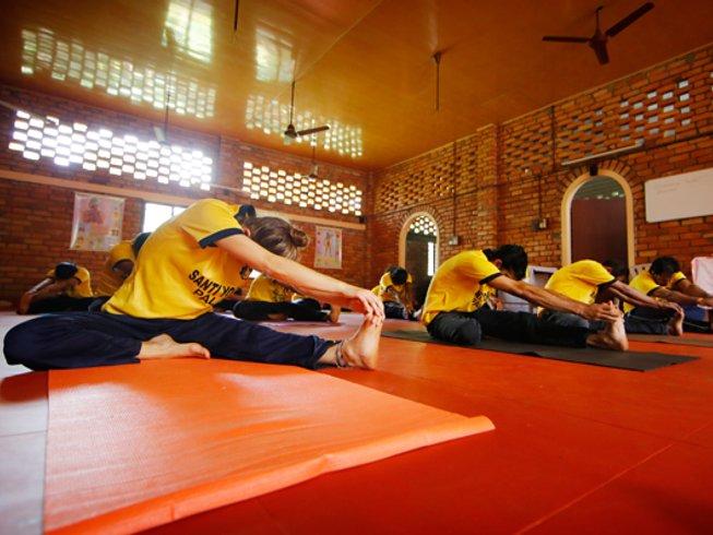 30 días profesorado de yoga avanzado de 300 horas en Kerala, India