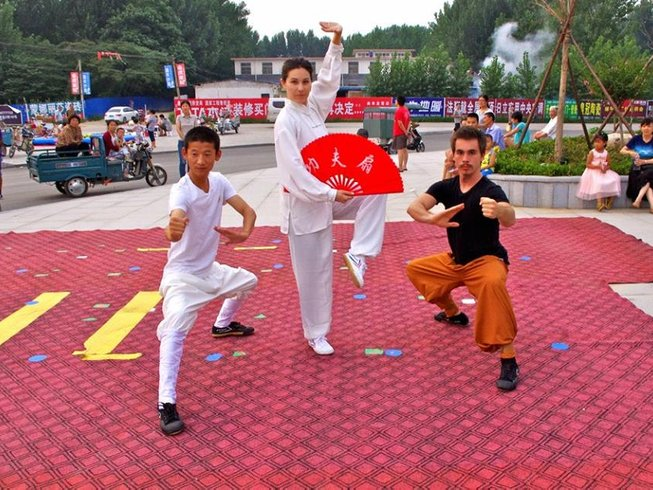 2 Months Shaolin Wushu Kung Fu Training in Shandong Province, China