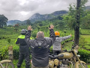 12 Day Cultures of South India Private Luxury Guided Motorbike Tour