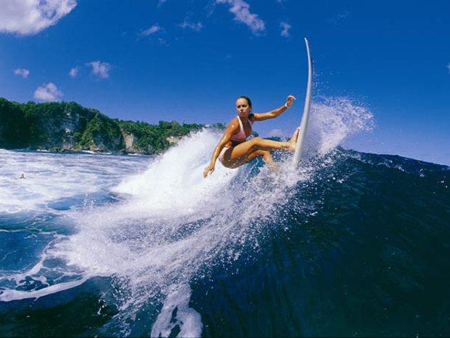 6-Daagse Surf en Yoga Retraite in Bali, Indonesië