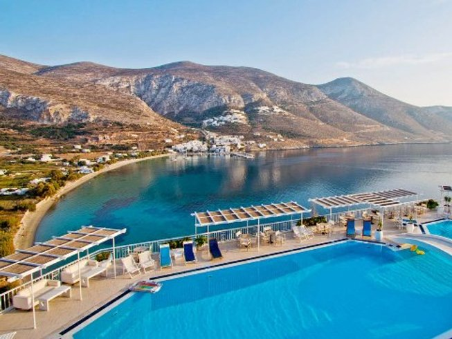 9 Days Amorgos Yoga Retreat Greece
