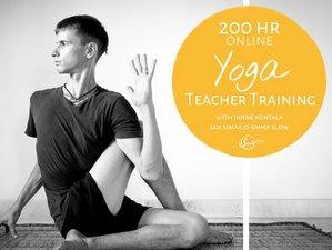 Self-Paced 200-Hour Online Yoga Teacher Training with Janne Kontala, Jan Simak, and Emma Slow