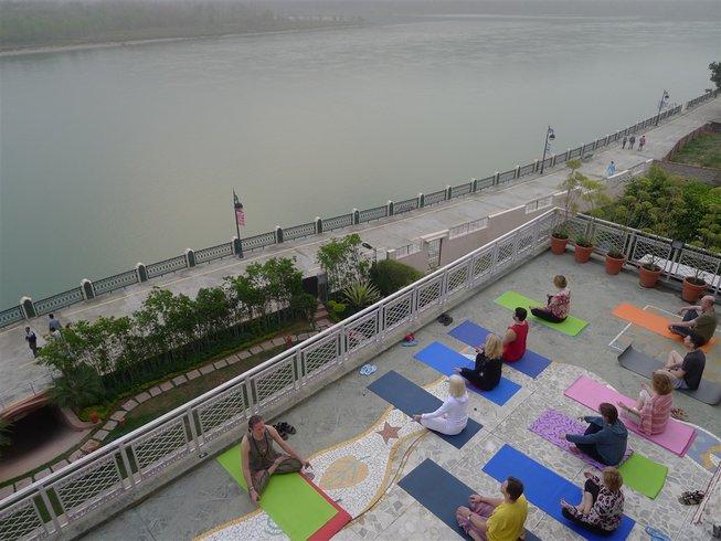 9 Days International Yoga Week in Rishikesh, India