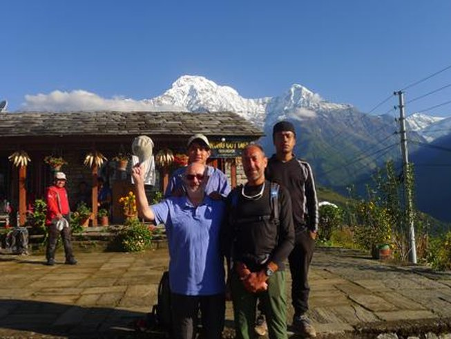 12 Tage Ghorepani Poon Trekking, Meditation und Yoga Retreat