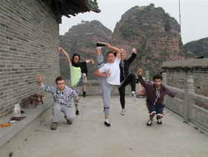 1 Year Intensive Kung Fu Training in China