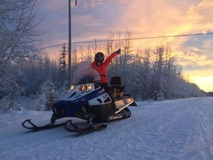 3 Day Snowmobile Guided Beginner's Holiday in North Pole, Alaska