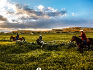 4 Day Couples Ranch Vacation with Picturesque Trail Rides in Wyoming, USA